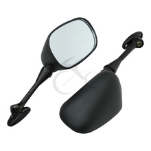 Motorcycle One Pair black Rear View Mirror For HONDA CBR 600RR 2003 2018 13 08 09