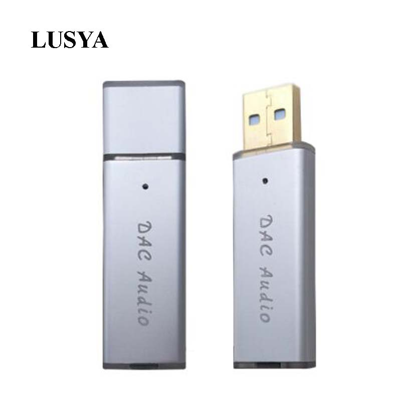 Lusya SA9023A   ES9018K2M USB Portable DAC HIFI External Audio Card Decoder For Computer Android  A6-017