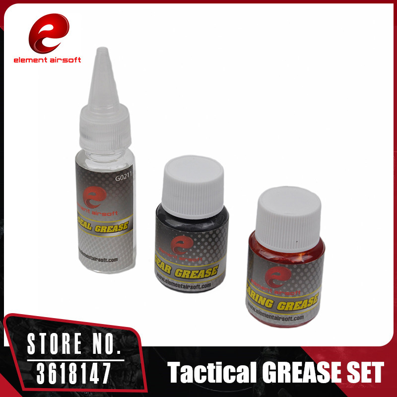 Element Oil Grease Set Airsoft Gear Air Seal Bearing Grease Hunting Accessories GB0100