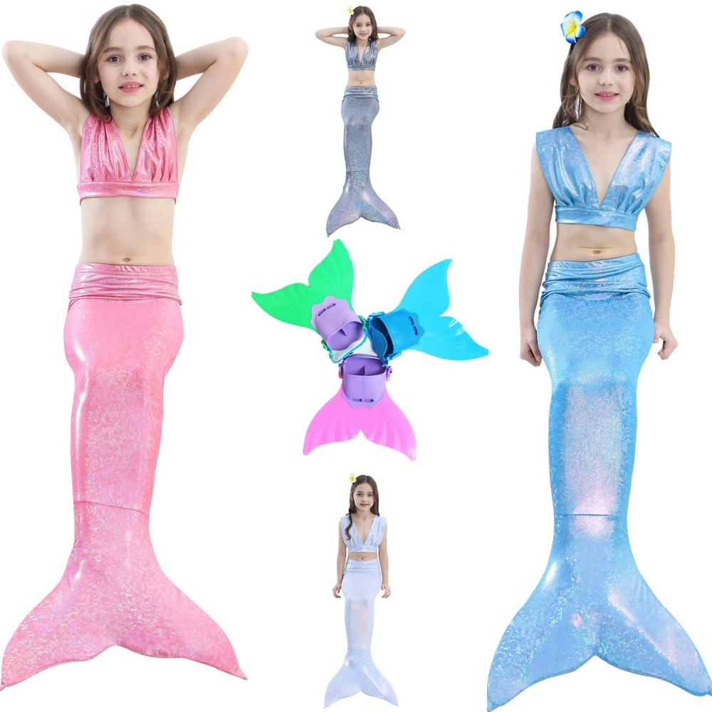 Mermaid suit swimsuit wholesale Cosplay costumes children swimwear bikini girls swimwear women bikini swimwear Halloween costume
