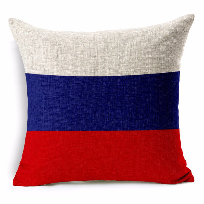 Russia Pillowcase Cushion Cover