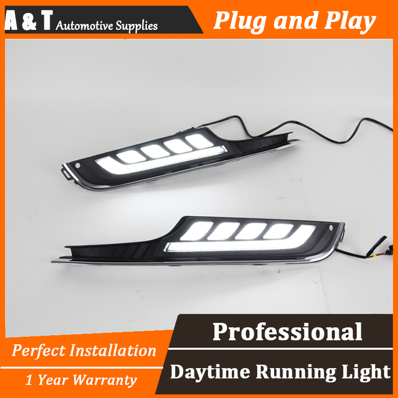 A&T car styling For VW golf 7 LED DRL For golf 7 led fog lamps daytime running light High brightness guide LED DRL for lexus rx gyl1 ggl15 agl10 450h awd 350 awd 2008 2013 car styling led fog lights high brightness fog lamps 1set