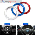 20ps Alloy Car Steering Wheel Center Red SIlver Blue Decoration Ring Cover1 3 4 5 7 Series M3 M5 GT3 GT5 X1 X3 X5 X6 45mm