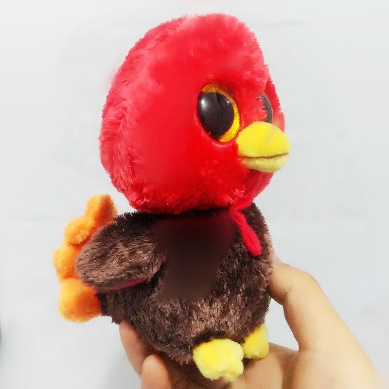 6 15 см Ty Beanie Боос оригинальный большой Средства ухода для век плюшевые игрушки куклы Турция День благодарения Для маленьких детей со дня ро...