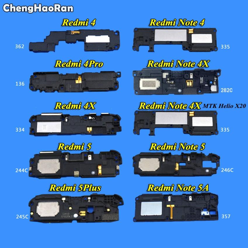 ChengHaoRan 1Piece Loud Speaker Loudspeaker Buzzer Ringer For Xiaomi Redmi 4 4X 4Pro 5 5Plus 6Pro/ Note 4 4X X20 5 5A