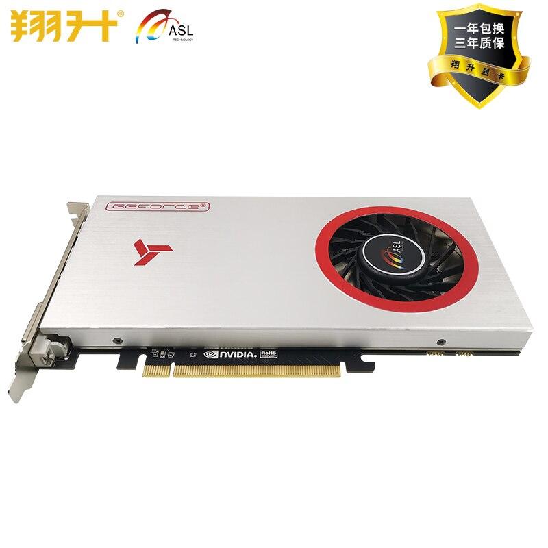 New Original  ASL GTX1060 SS 6G GDD5 192bit Video Cards For NVIDIA Geforce GT 1060 Hdmi Dvi Game