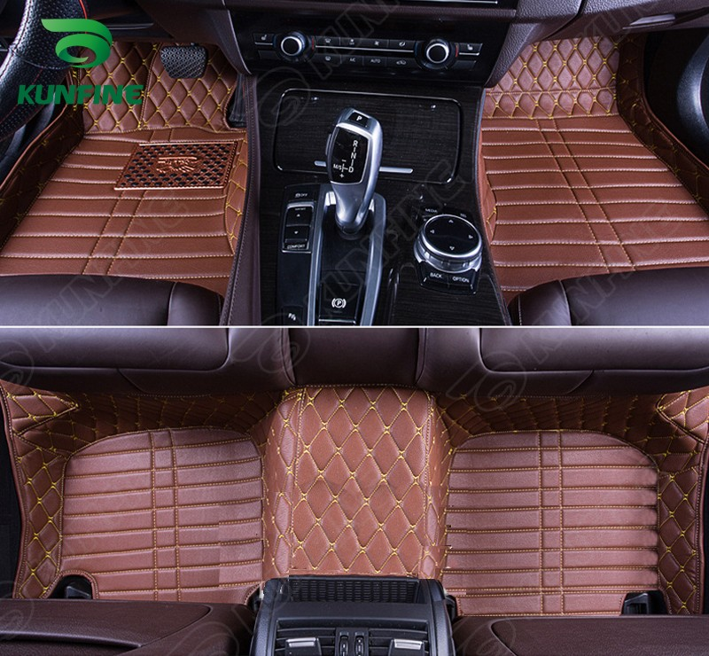 Top Quality 3D car floor mat  for HYUNDAI Santa Fe  foot mat car foot pad 4 colors Left hand driver drop shipping