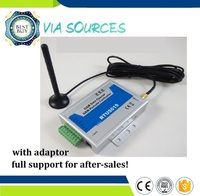 Free Shipping GSM automatic gate opener swing door opener 2 Digital Input / 1 Relay Outpu Supporting 3V SIM Card(RTU5015)