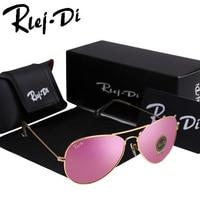 Drop Shipping Pilot Sunglasses Men Women Glass Lenses Aviador Sun Glasses Rayed Male Female Oval Mirror