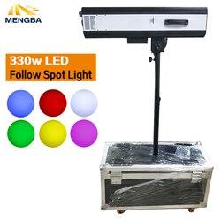 El más nuevo 330 W LED sigue en luz del punto con potencia de 330 W LED sigue en rastreador con el caso del vuelo para boda/ teatro