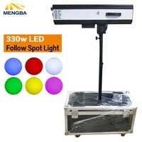 Nuevo foco LED de 330w con potencia de 330 W, seguidor LED con caja de vuelo para bodas/teatro