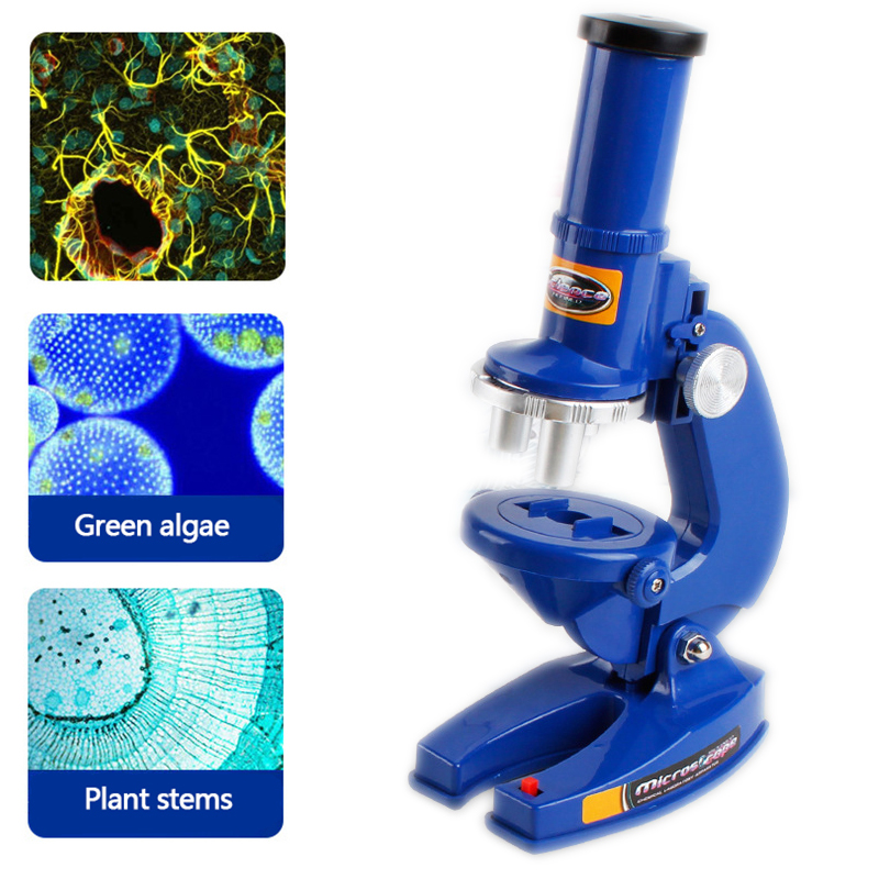 Children Early Educational Science Microscope 450 Zoom Biological Microscope Refined Scientific Instruments Learning Machine Toy