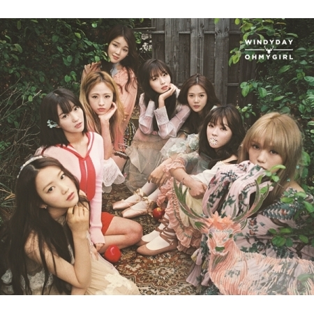 OH MY GIRL 3RD MINI ALBUM REPACKAGE - WINDY DAY Release date 2016.05.31 KPOP lexington studios 24018g its a girl mini album