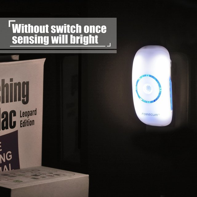 wireless led motion sensor light auto detect body night light led wireless motion sensing light box