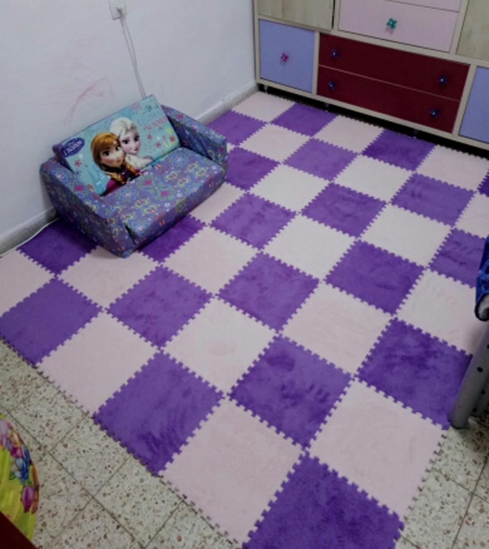 HTB1vtQjX4 rK1RkHFqDq6yJAFXaO 10 Pcs/lot Plush Puzzles Baby Playmats Puzzle Mat Infant Carpet Eva Foam Kids Rug Baby Playing Mat Rug Puzzle Children's Mat