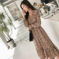 Платье с популярным принтом
