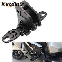 Nuoxintr черные мотоциклетные складные Задние подножки для ног аксессуары для мотоциклов HONDA X ADV XADV X ADV