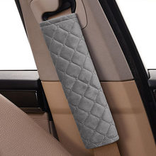 Car Safety Belt Car Seat Belt Cover Protection Shoulder Pad For Kia Rio K2 K3 Ceed Sportage 3 sorento cerato armrest soul optima(China)