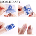 200pcs/box UV Soak Off Gel Polish Remover Bag Wet Paper Eco-friendly Manicure Nail Art Tool 8318569