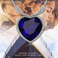 Nueva alta calidad Marino Titánico Del Collar Del Corazón Para Las Mujeres Crystal Rhinestone Regalo de la Joyería de Venta Estados Unidos Rusia