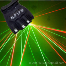 New Arrived Christmas Laser Gloves With 3 Pcs 532nm 80mw Green Red Lasers Gloves Stage Laser Show Led Laserman Show Gloves