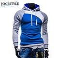 Men's Autumn Winter Casual Outwear Slim Hoodie Warm Hooded Sweatshirt Coat Outwear Hoodies Asian Size M L XL XXL