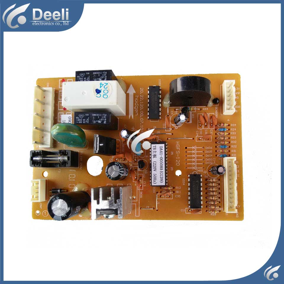 refrigerator pc board Computer board BCD-198NKSS BCD-212NKSS DA41-00508A HGFS-120 used board good working for embraco refrigerator pc board computer board used bcd 558wa bcd 558wyjz 0064001350 frequency conversion board