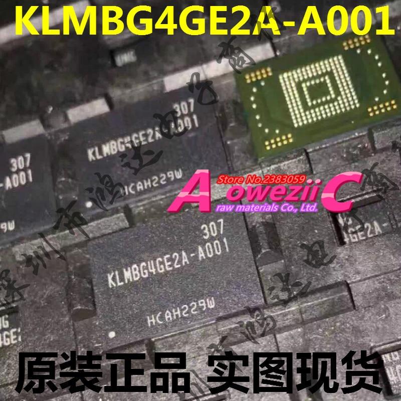 Aoweziic (1PCS) (2PCS) (5PCS) (10PCS) 100% New original    KLMBG4GE2A-A001  BGA  memory chip   KLMBG4GE2A A001 2 pcs 15mmx13mmx1000mm 100