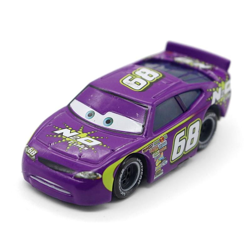 Disney 100% Original Pixar Cars Diecast NO.68 Racer Metal