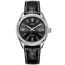 Casio watch Simple leather black plate calendar quartz female watch LTP 1302L 1A LTP 1302L 7B