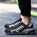 Amantes de zapatillas de deporte Casuales de alta Calidad unisex Entrenadores Transpirable Luz Suave Pisos de Lujo de Marca Hombre Zapatillas Hombre