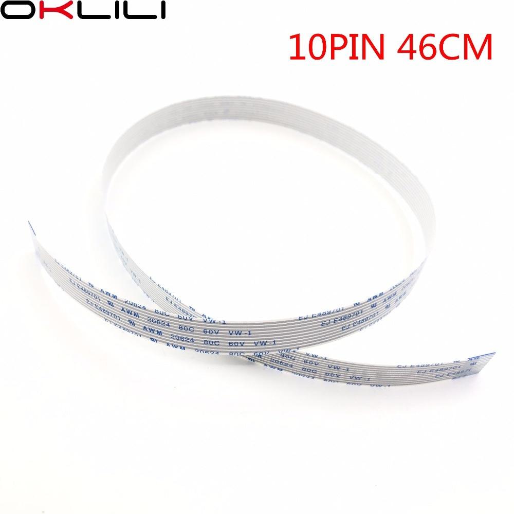 10PCX автоматическое устройство подачи документов АДС плоский гибкий кабель с ПВХ изоляцией 10PIN 46 см для hp M426 M427 M274 M277 M377 M477 M452