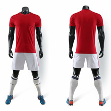 19-20Short-sleeved football jersey sportswear soccer clothing boys and girls youth suits