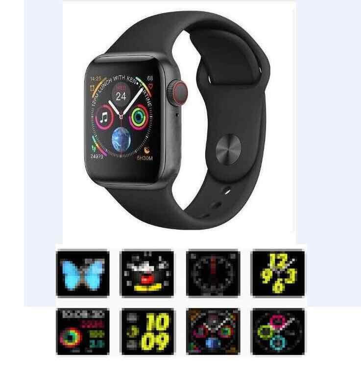Смарт Браслет для проверки сердечного ритма 8 1:1 SmartWatch 44 мм чехол Bluetooth циферблат для Apple iOS Android сердечного ритма ЭКГ-шагомер IWO 6 обновления