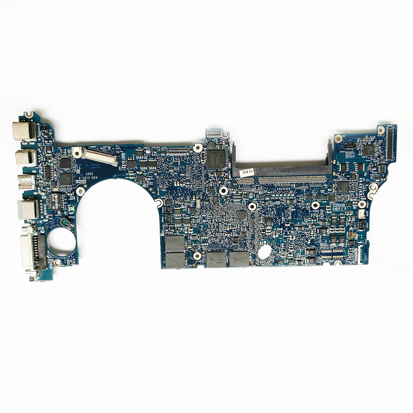 2pcs/lot for Macbook Pro 15 A1226 Logic board CPU 2.2GHz T7500 820-2101-A 661-4955 non-integrated Motherboard MA895LL/A 2007 for macbook pro 17 a1229 motherboard logic board 820 2132 a 661 4958 2 4ghz t7700 ma897ll a 2007