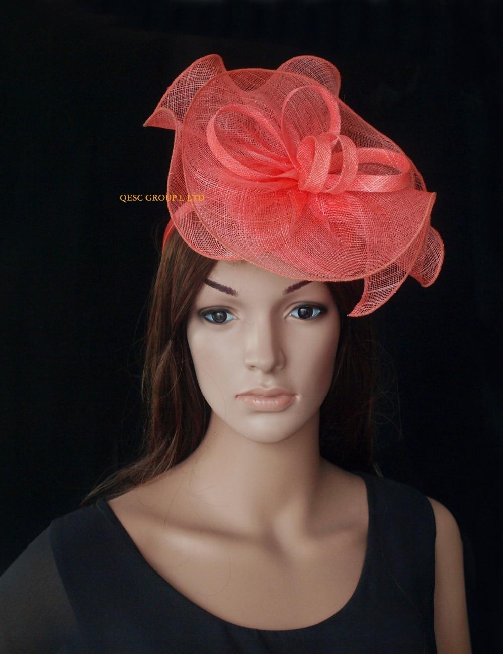 Kentucky Derby Hairstyles Aliexpresscom Buy New Arrivalsinamay Fascinator Hat Hair
