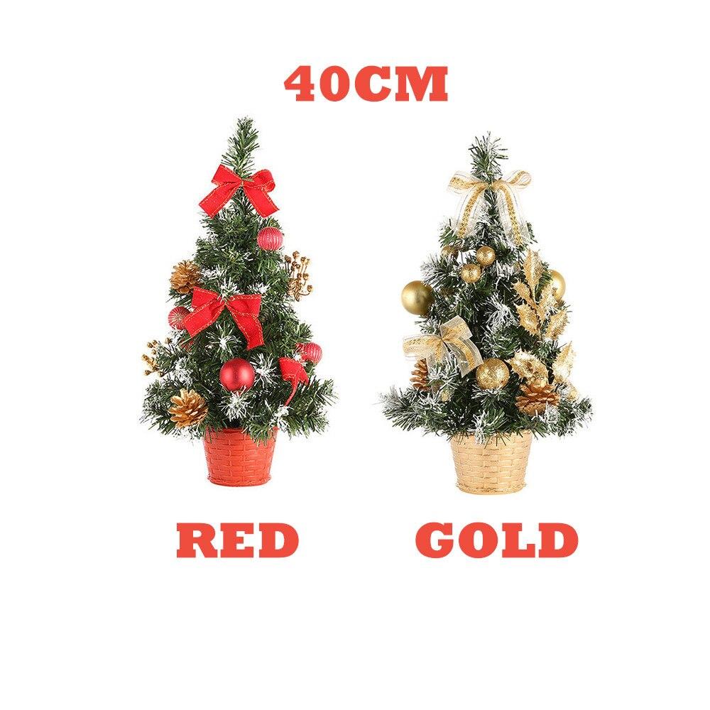 Artificial Tabletop Mini Christmas Tree Decoration Festival Miniature Xmas Tree