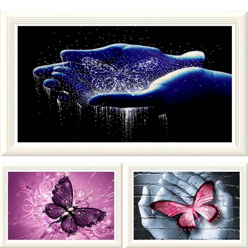 Новинка 5D l круглая Алмазная вышивка мультяшная мышь Настенный декор головоломка алмазная живопись «сделай сам» Алмазная мозаика картина из страз