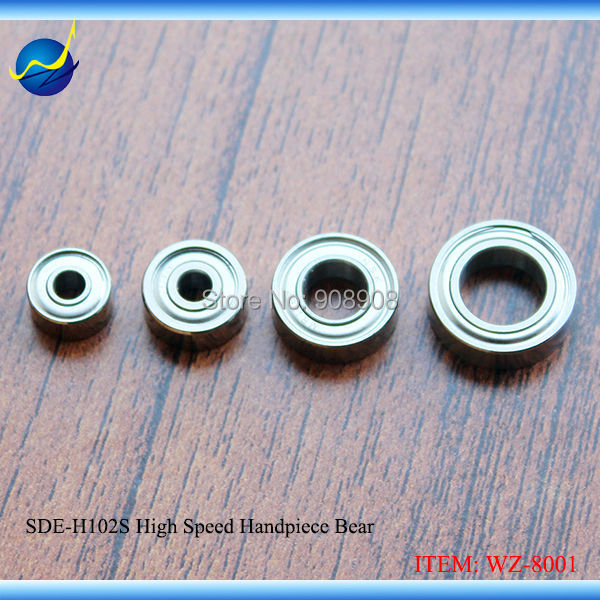 2017 Real 4pcs Spare Parts & Components Micro Ball Bearing For Sde-h102s, Sde-l102s, 100sh, 170sh Brush Motor Handpiece Drill spare parts pc00002 h used 100
