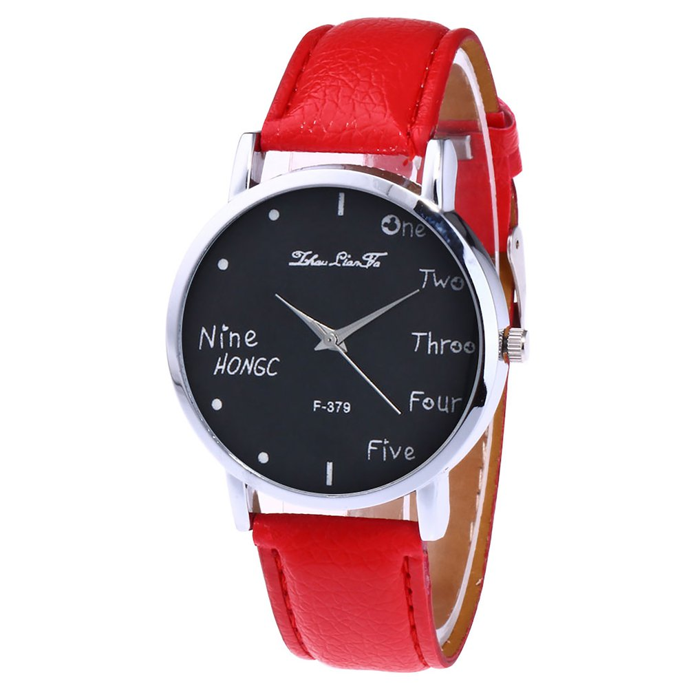 Leather Strap Women Quartz Watch Ladies Wristwatch Luxury Girl Quartzwatch For Dropshipping Fashion Relojes Mujer