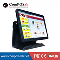 Stock 2016 New Design 15''  All In One Pure Touch  Screen Restaurant System POS Terminal With i3 Processor For Small Business