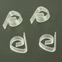 4/8 pçs piquenique casa de plástico transparente toalha de mesa clipe refeição casamento bola multi função toalha de mesa clipe|Toalhas de mesa|   -