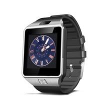 Smart watch dz09 smartwatch bluetooth y pantalla táctil de la cámara tarjeta sim reloj de pulsera para teléfonos android ios soporte multi idiomas