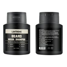 Get more info on the LANTHOME Vitamin Wash Shampoo Hair Beard Care Men's Gift Beard Assistance Machine Moisturiser Deep Cleansing Beard 1PCS