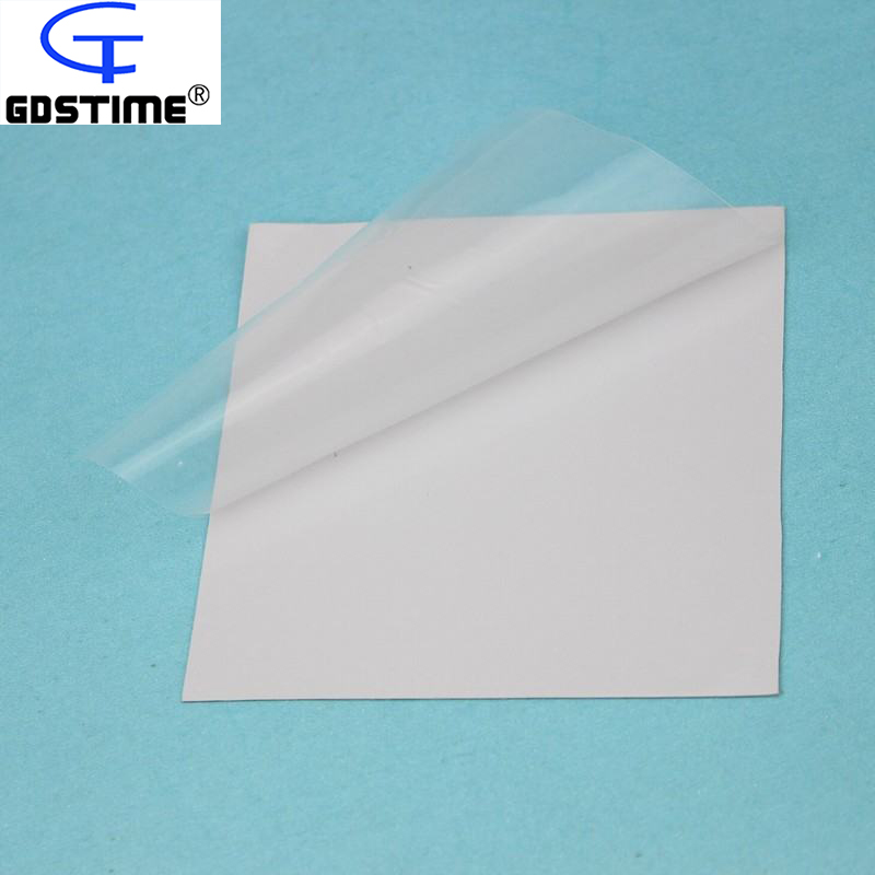 Gdstime 10 pcs 100x100x0.5mm CPU Silicon Thermal Pad Soft Heatsink Conductive Pad 100mmx0.5mm for Laptop Cooling wholesale