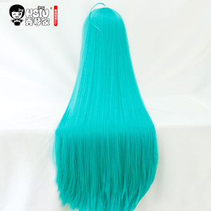 Image 3 - HSIU Arazi Parlak Alexandrite Cosplay Peruk Houseki hiçbir Kuni Kostüm Oynamak Peruk mavi yeşil uzun peruk Cadılar Bayramı kostümleri Saç