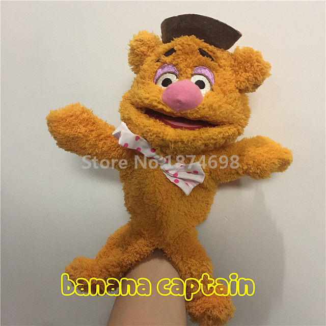 Online Shop The Muppets Puppet Kermit Frog Fozzie Bear Swedish Chef ...