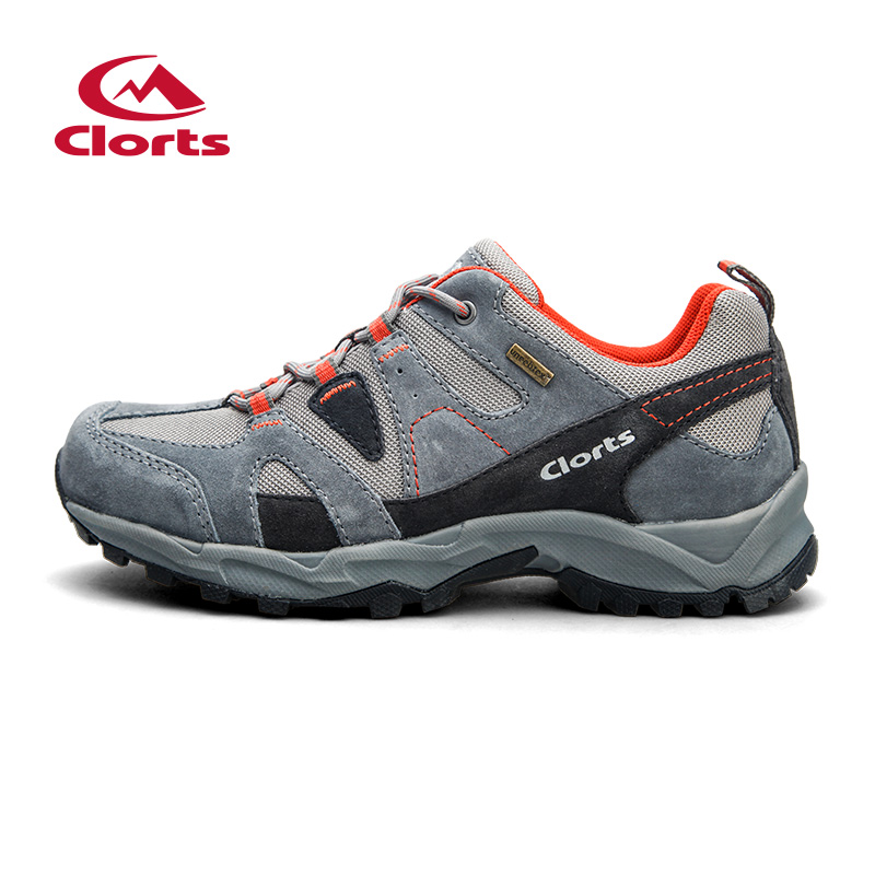 ФОТО 2016 Clorts Men Shoes HKL-828A/B/C Hiking Shoes Low Cut Uneebtex Men Outdoor Sneakers Climbing Athletic Shoes
