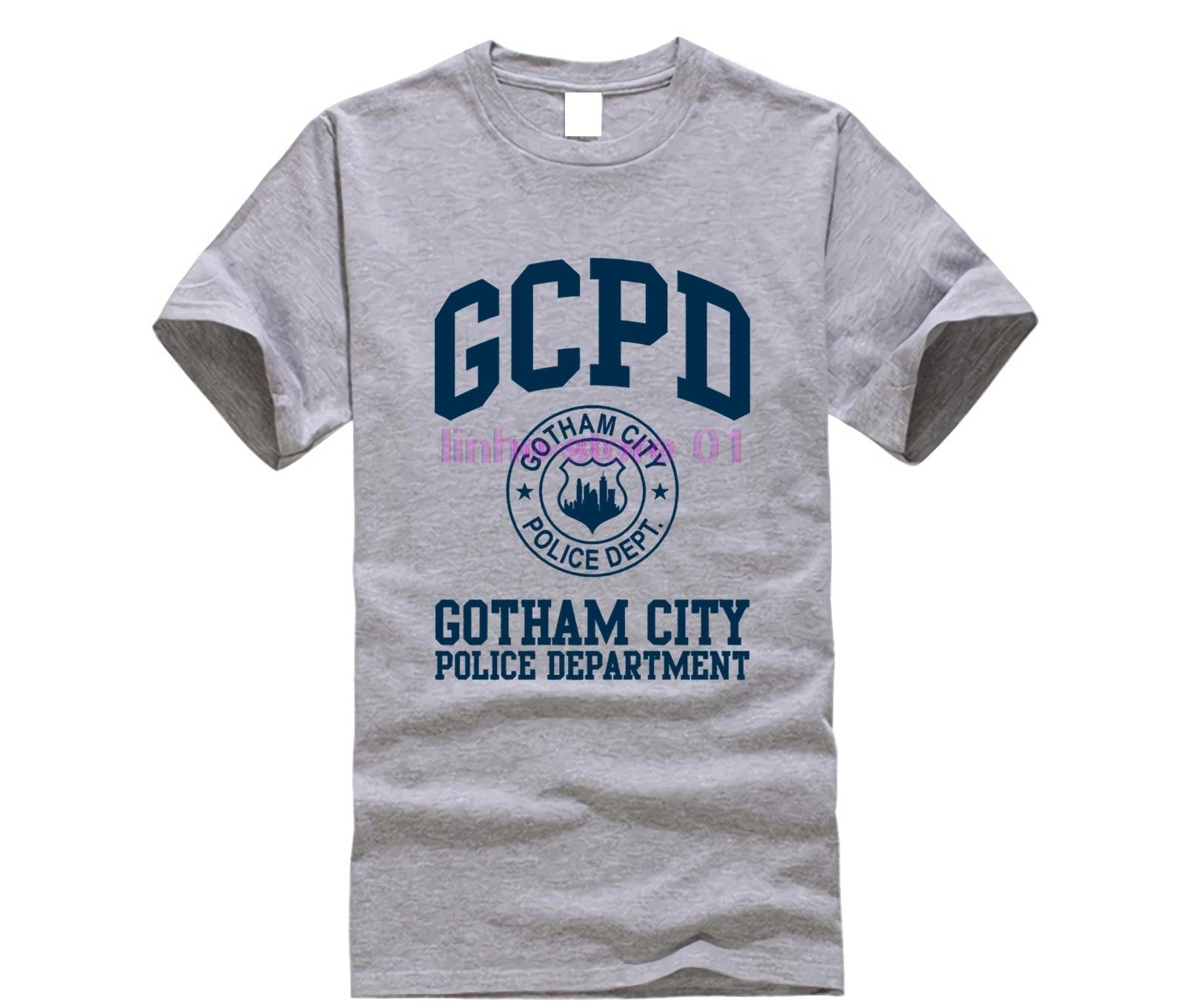 Camiseta Departamento De Comic Show Policía Gótica Ciudad Corta Manga Gord Book Gcpd Tv TXZuOPki
