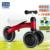 Marca Crianças Equilíbrio Scooter Motos Scooters Andador Infantil 1-3years Sem Pedal de Condução Presente para Criança de três rodas de Bicicleta